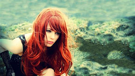 wallpaper girl red red hair girl wallpaper background 7635 1920 x 1080