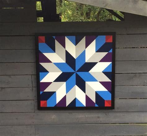 quilt pattern on barns laurel barn quilts lone star barn quilt pinterest
