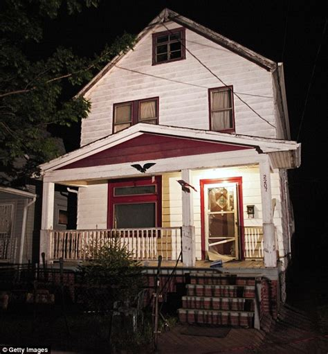 ariel castro house ariel castro s three victims bravely return to the house of horrors to thank neighbors before