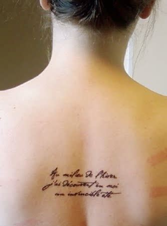 middle back tattoo 10 most places to get a for