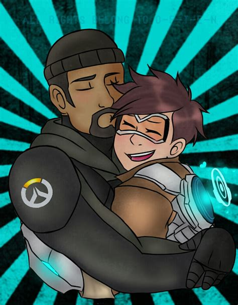 Overwatch   Tracer x Reaper by O F T E N on DeviantArt