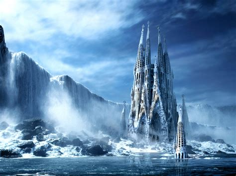 wallpaper 3d winter wallpapers 3d castle