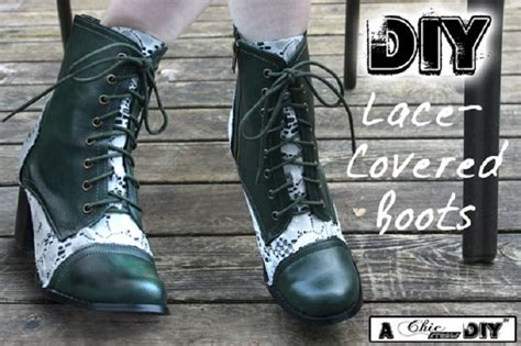 diy lace shoes top 10 amazing diy ideas for boots makeover top inspired
