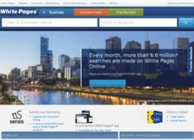 White Pages Australia Search Whitepagesonline Au At Wi White Pages 174 Search For An Australian Business
