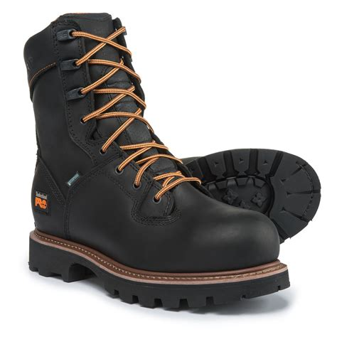 timberland waterproof work boots timberland pro 8 crosscut soft toe work boots for