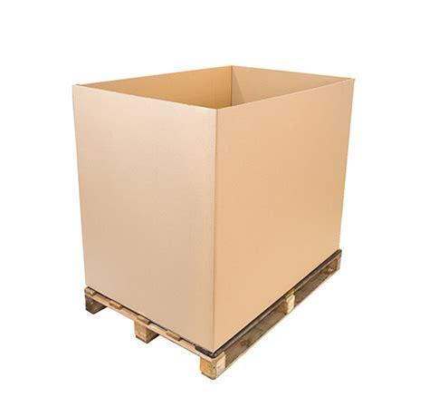 corrugated cardboard pallett boxes cardboard box co
