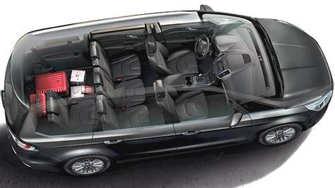 Dimensions Ford Galaxy 2015, coffre et intérieur