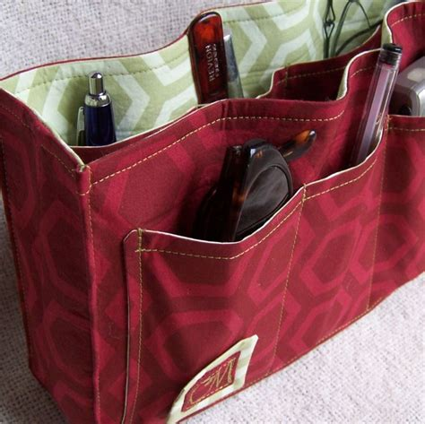 tote bag pattern with dividers looking for a purse organizer this one looks good pdf