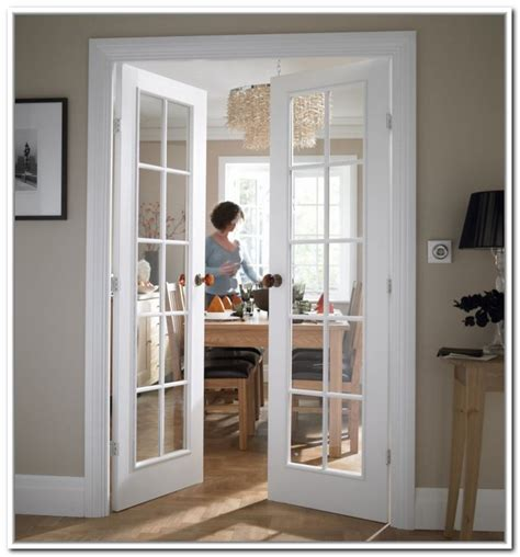 Interior Glass Doors White 10 White Interior Doors Beautiful And Breath
