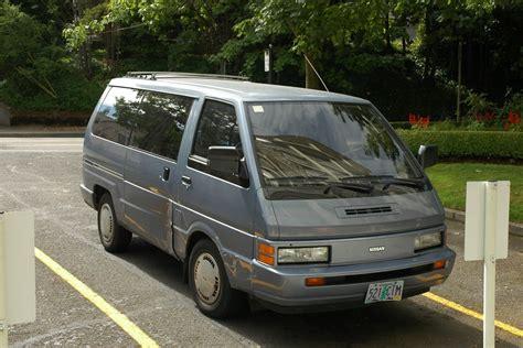 Old Parked Cars 1987 Nissan Van Xe Quot Gold Dust Quot
