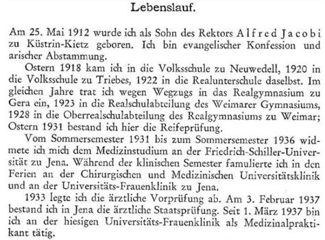 Lebenslauf Fur Einburgerung Deutschland Ariernachweis
