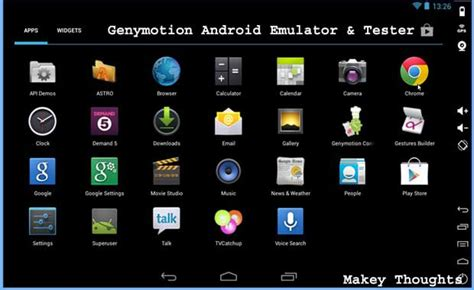 pc android emulator android emulator