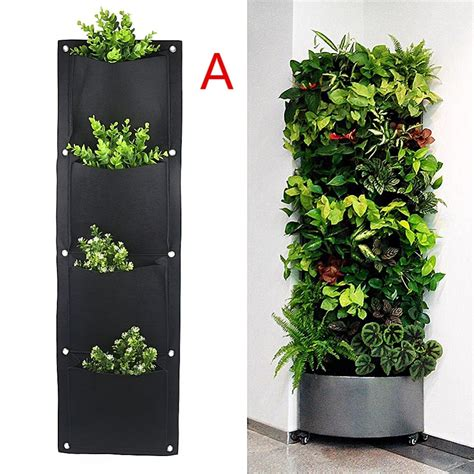 pockets vertical garden wall planter living hanging