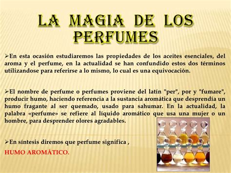 la mgia de lordre 28 la magia de los perfumes