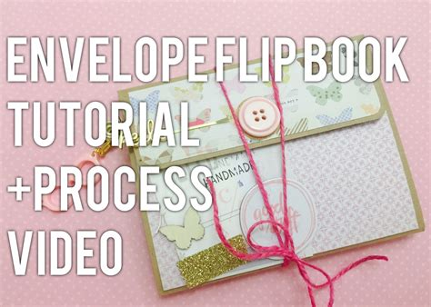 sketchbook flip book tutorial envelope flip book tutorial process video ミニブックのアイデア