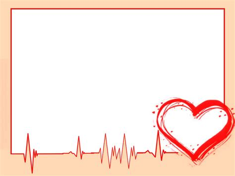 heart ppt background powerpointhintergrund