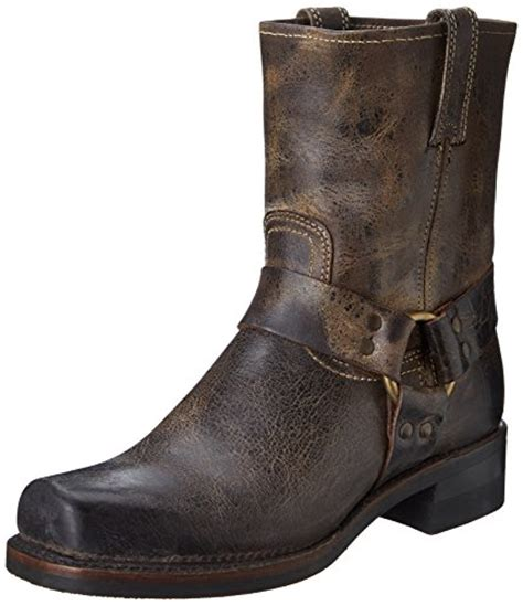 frye s harness 8r boot chocolate 87402 13 m us