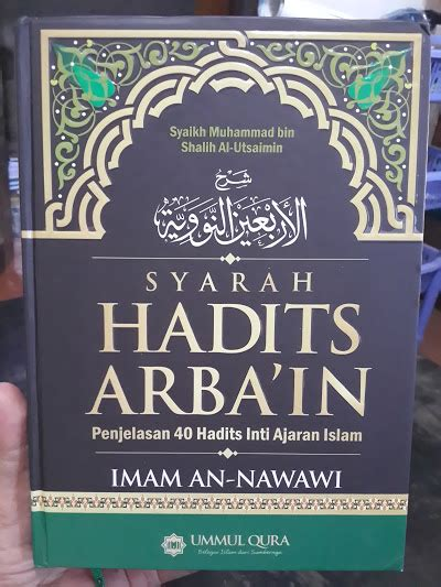 Tarbiyah Jihadiyah Imam Bukhari 2 buku syarah hadits arbai in syaikh al utsaimin toko