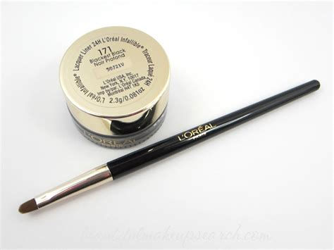 Murah L Oreal Liner Black Lacquer Eyeliner l or 233 al infallible never fail lacquer liner 24h