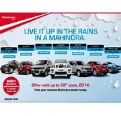 Mahindra Automobile Monsoon Offer  DriveSpark News