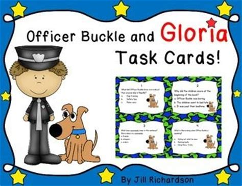 Officer Buckle And Gloria Activities by Officer Buckle And Gloria Task Cards Reading