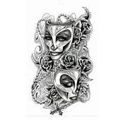 Feminine Face Tattoo Design  Ideas Pictures