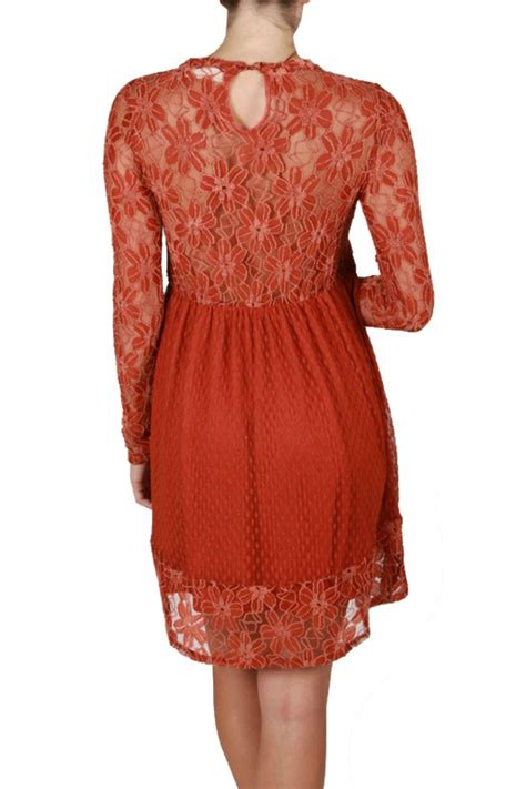 B L F Lace Dress a reve rust lace dress from by baretrees boutique