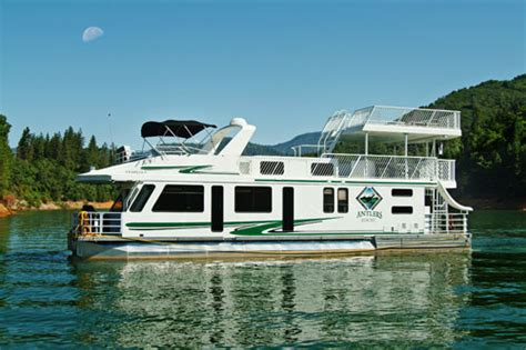 shasta lake house boat antlers resort marina orion houseboat details