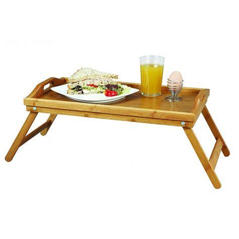 plateau petit dejeuner lit plateau petit d 233 jeuner au lit en bambou tr 232 s r 233 sistant