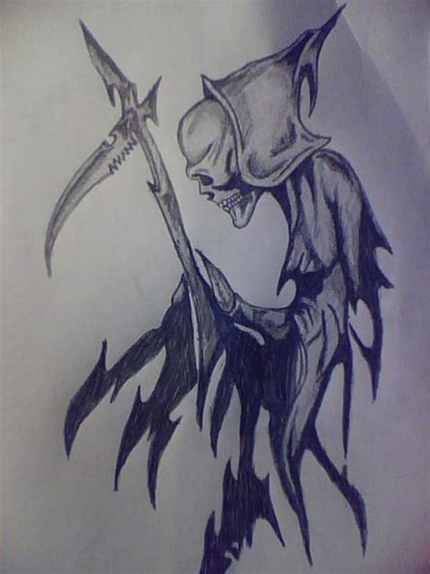 tribal reaper tattoo grim reaper images designs
