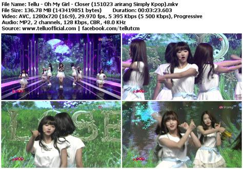 download mp3 closer oh my girl download perf oh my girl closer arirang simply kpop