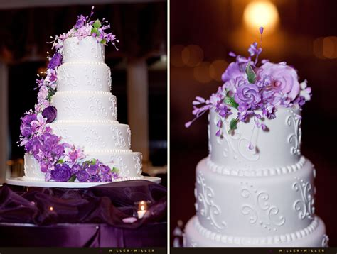 Wedding Cake Purple by A Pretty Collection Of Unique Purple Wedding Cakes