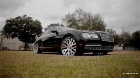 2017 bentley flying spur on rims bentley flying spur w12 with 24 quot forgiato dito wheels