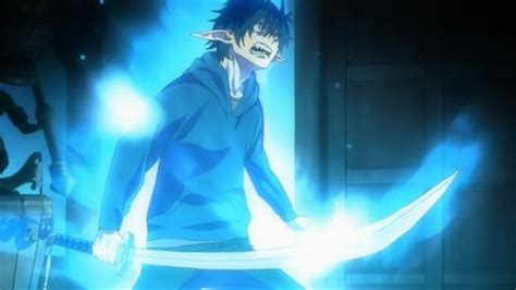 rin okumura demon form blue exorcist rin demon form angry google search blue