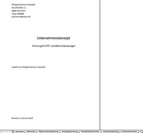 Word Vorlage Businessplan Businessplan Deckblatt Excel Vorlagen F 252 R Jeden Zweck