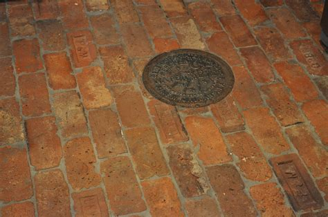 retro flooring vintage brick floor thecottageatroosterridge