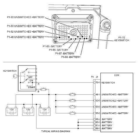 caterpillar key switch wiring diagram wiring diagrams