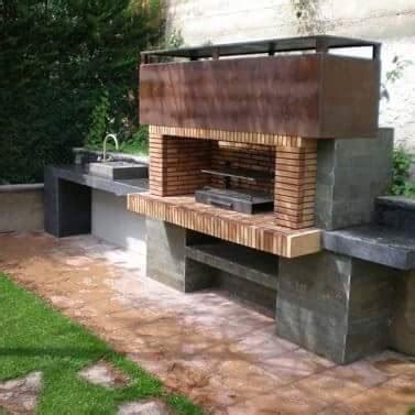 imagenes de asadores minimalistas espectaculares dise 241 os de asadores para tu patio