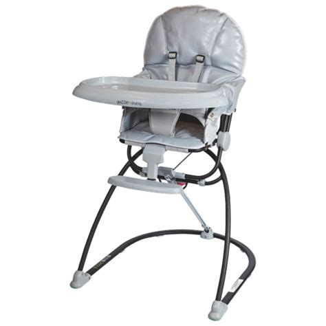 guzzie guss reclining high chair gg203grey grey