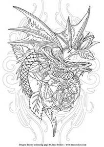 The anne stokes fantasy art colouring book