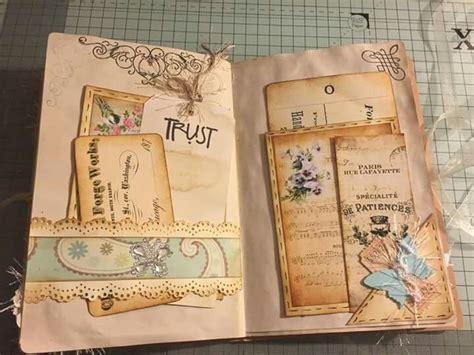 junk journal yvonne vintage junk journal junk journal