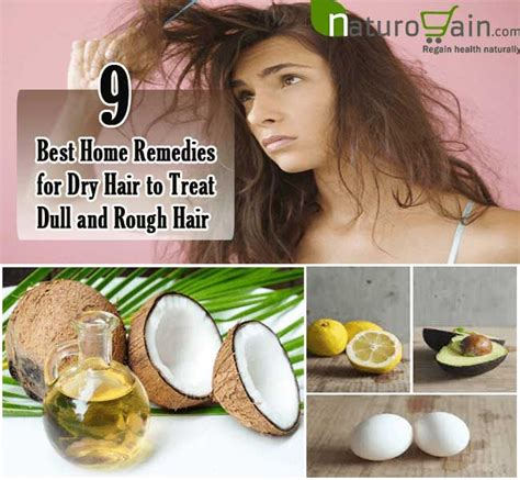 9 best home remedies for hair to treat dull and hair