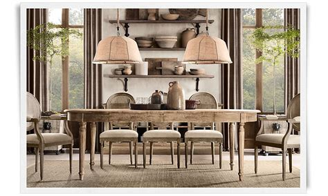 restoration hardware dining rooms a deconstructed home by restoration hardware christina