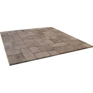 Home Depot Pavers Patio Blue Pavers Step Stones Landscaping Garden Center The Home Depot