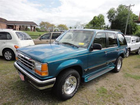 93 Ford Explorer 93 ford explorer xlt v6 loaded pristine one owner cond