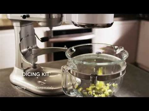 Stand Mixer: Food Processor Attachment   KitchenAid   YouTube