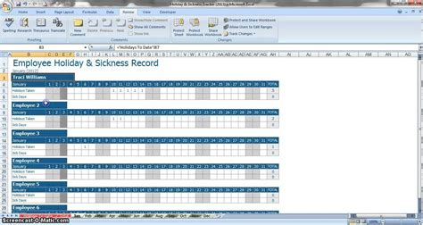 pto spreadsheet template qualads