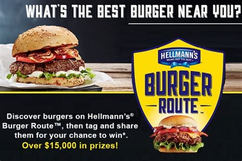 burger route sweepstakes sweepstakesbible - Sweepstakes Route