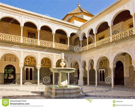 11 Artistic Shouse House casa de pilatos seville andalusia spain stock image
