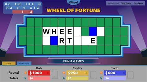 Wheel Of Fortune For Powerpoint Tim S Slideshow Games Create A Wheel Of Fortune In Powerpoint